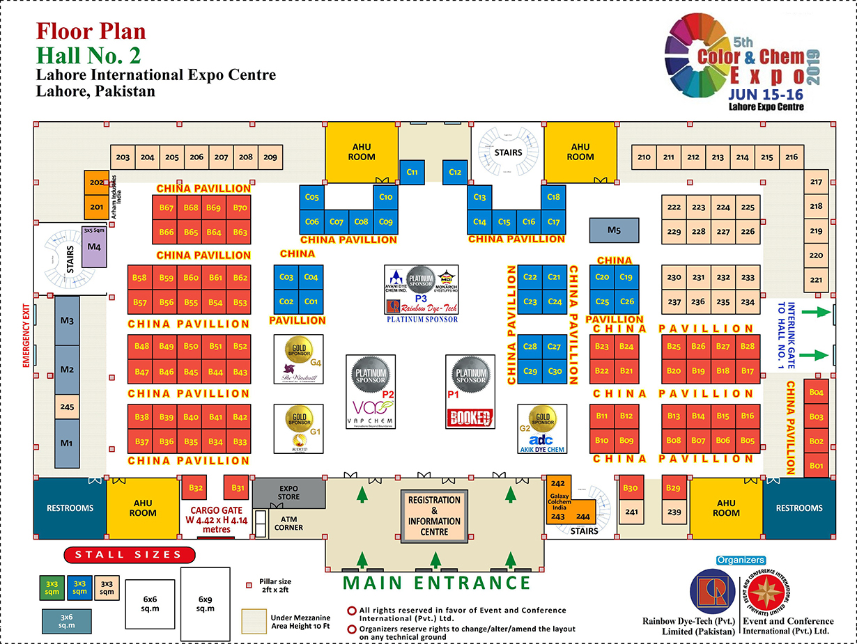 Where Can You Meet Us During the 5th Color&Chem Expo Lahore, Pakistan.